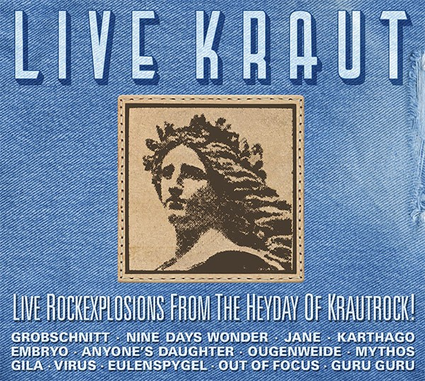 "SIR 2090 V.A. ""Live Kraut - Live Rockexplosions From The Heyday Of Krautrock"" CD"