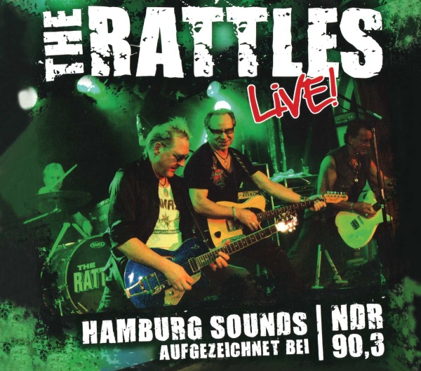 "SIR 2181 THE RATTLES ""Live"" CD"