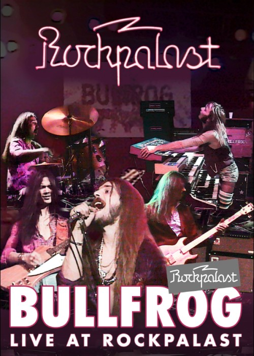 "SIR 5003 BULLFROG ""Live at Rockpalast"" DVD"