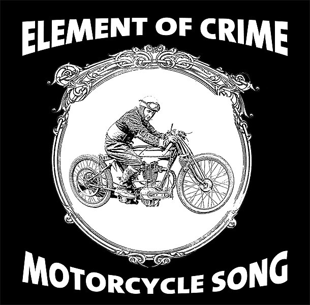 "ELEMENT OF CRIME ""Motorcycle Song"" / THE PERC MEETS THE HIDDEN GENTLEMAN ""Man-I-Toba"""
