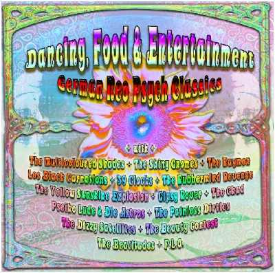 CD V.A. - Dancing, Food & Entertainment - German NeoPsych Classics (SIR2039)