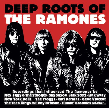 CD Various Artists - Deep Roots Of The Ramones (SIR2093)