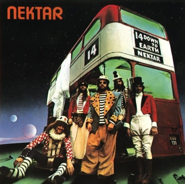 "Sireena 4015 NEKTAR ""Down To Earth"" Vinyl Album"